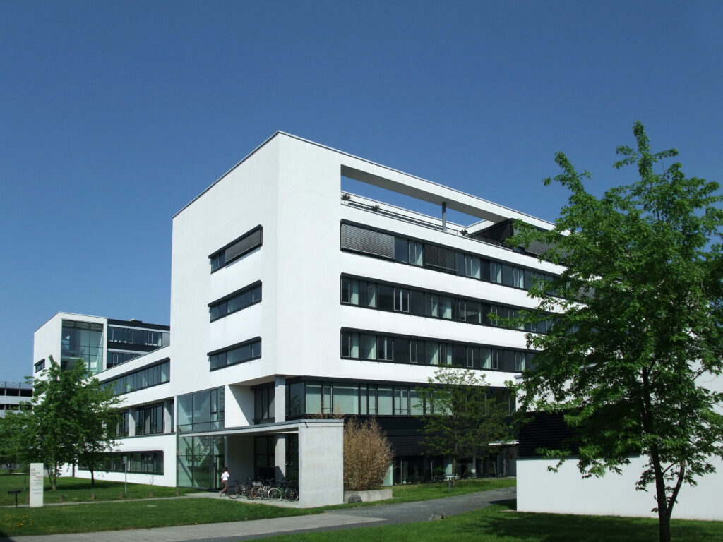 Ansicht Gebäude Mornewegstraße